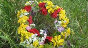mage result for may day wreath greece