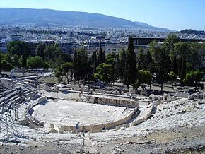 CULTURAL CORNER – THEATRE OF DIONYSUS