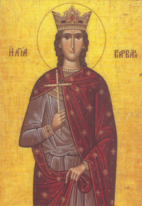 SAINT BARBARA and Greek Traditions